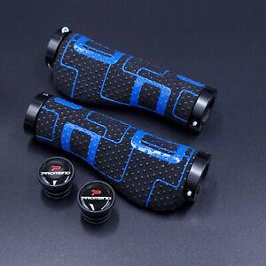 💥 Ergo Silicone/Suede MTB Bicycle Grips /Hybrid/Commuter/Comfort Bike Flat Bar