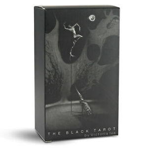 The Black Tarot Cards Deck by Da Brigh Black & And White Deck
