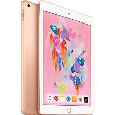 """Apple 9.7"""" iPad 6th Gen 128GB Gold Wi-Fi MRJP2LL/A 2018 Model"""
