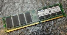 1gb Crucial CT12864Z335.S16TY PC2700U 333MHz DDR1 Non-Ecc Ordinateur Mémoire Ram