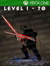 Diablo 3 Xbox One-vollständig modifizierte Set Hexendoktor-Zunimassa-Level 1 - 70