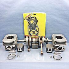 New OEM Polaris Cylinders Crankshaft 04-14 550 F Fan Piston Gaskets IQ RMK