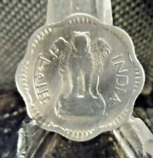 CIRCULATED 1957 10 PAISE INDIA COIN (20519)1.....FREE DOMESTIC SHIPPING!!!
