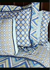 *NEW* Caden Lane Limited IKAT Collection Cotton Full Sheet Set 200 Thread Count