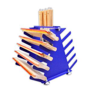 5 Layers Screen Printing Squeegee / Spatulas Holder Desktop Shelving Tool Rack