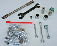 Mixed LOT Old Vintage Tools Breaker Bar Sockets Wrenches Various Mix DR