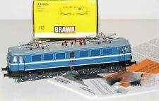 "BRAWA H0 43002 Electric Locomotive E 42 072 the Dr "" Fair Leipzig "" Boxed RS9108"