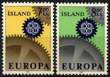 Iceland 1967 SG#440-1 Europa MH Set #D56278