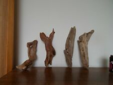 Driftwood Pieces, x 4 long shapes Bogwood. vivarium, craft or other