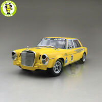 1/18 Minichamps Benz 300 SEL 1971 #38 Diecast Car Model Toys gifts