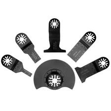 6pcs Oscillating Tool Saw Blades Accessories for Wood Plastic Soft Metal Cutting