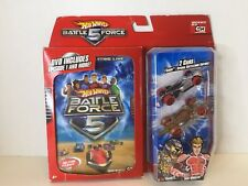 Hot Wheels Battle Force 5 Die Cast Car 2 Pack with DVD Saber Klaus Vert Wheeler