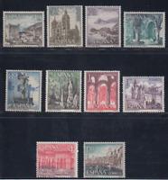 SPAIN (1964) - MNH - Sc# 1200/09 - EDIFIL 1541/50 TOURISM
