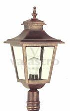 Lanterna lampada da esterno Illuminazione giardino per palo Valastro