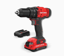 CRAFTSMAN CMCD700C1-10LW 1/2in 20V Cordless Drill/Driver with Accessories