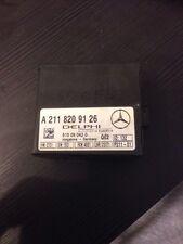 Mercedes W203 W209 CLK Alarma/módulo antirrobo de un 211 820 91 26/A2118209126