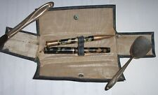 Vintage UNIVER Pen Co. Set Pencil & Fountain Pen, Collectible Writing Instrument
