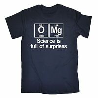 Science Is Full Of Surprises MENS T-SHIRT tee birthday gift nerd geek college
