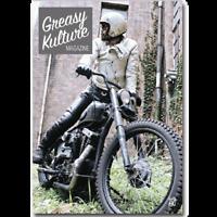 Greasy Kulture Magazine 66 Harley Triumph chopper HD PanHead Sportster GKM