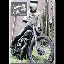 Greasy Kulture Magazine 66 Harley Triumph chopper HD PanHead Sportster GKM