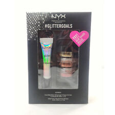 NYX Glitter Kit Copper, Gold, Ruby GLISET02 + FREE SHIPPING