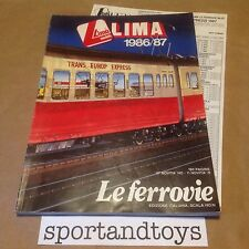 LIMA CATALOGO 1986/87 CON LISTINO PAGINE 180