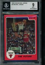 1986 Star #10 Michael Jordan BGS 9 from Subset Bag The Future