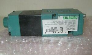 Numatics 081SA400K000030 Solenoid Air Control Valve,120Vac