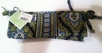 Vera Bradley Small Bow Cosmetic Cambridge New With Tags
