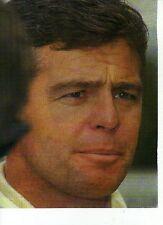 W15 Ritaglio Clipping 1992 Formula 1 Derek Warwick intervista neoiridato