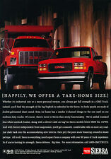 1994 GMC Sierra Truck - Take Home - Classic Vintage Advertisement Ad D186