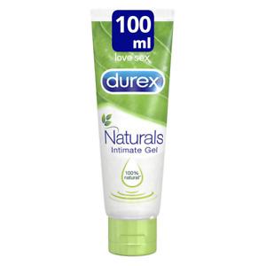 Durex Naturals lubricante a base de agua, 100 ml