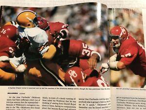 1972 Sports Illustrated OKLAHOMA SOONERS Greg PRUITT No Label UNLIMITED TALENT