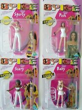 Spice Girls 3-Inch Figures by Toymax - All White Edition