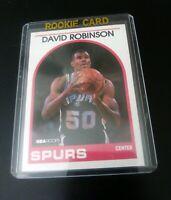 1989 David Robinson NBA Hoops Rookie Card #310
