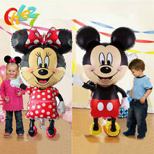 112CM GIANT Mickey & Minnie Mouse Supershaped Foil Balloon Party Decoration .
