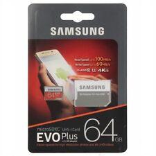 Mb-mp64ga/eu Micro SD Tipologia microSDXC Uhs-i Memory Card Samsung 64 GB