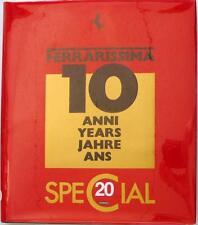 FERRARISSIMA 20 - 10 ANNI YEARS JAHRE ANS - ALFIERI GARGIONI CAR BOOK