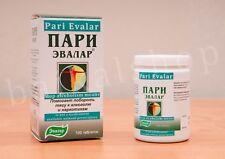 Pari Evalar Stop Alcoholism, Quit Alcoholism natural means 100 tablets