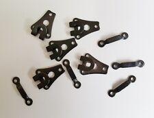 5 Stück Hosenhaken Rockhaken Rockverschluss Hosenverschluß schwarz