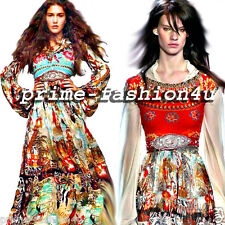 Blumarine Swarovski Crystal Handmade Embroidered Red Velvet Belt