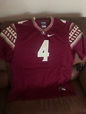 Nike Florida State Seminoles Ncaa Football Jersey Nwt Size L Mens