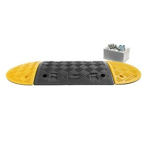 1 M Speed Ramp Kit: 75mm 5 MPH (1 Midsections + 2 End Caps - Fixings Included)