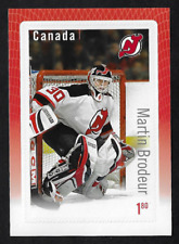 Canada Stamps -2015, Hockey Card NHL -Great Canadian Goalies: Martin Brodeur MNH