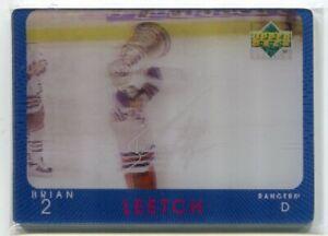 1997-98 Upper Deck Diamond Vision Signature Moves 12 Brian Leetch