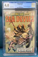 Showcase # 27 CGC 4.0 1st app. & Origin of the Sea Devils, Grey Tone Cover