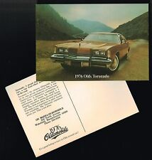 Pr. (2) 1976 Oldsmobile Toronado Post Card PostCard