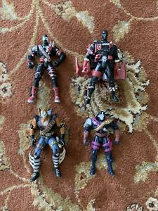 Lot Of 4 Spawn Action Figures 90s Chapel Todd Mcfarlane Hasbro Vintage Toy