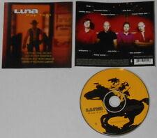 Luna - Pup Tent - U.S. promo label cd, Gold DJ Stamp