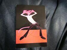 Vintage Pink Panther Postcard